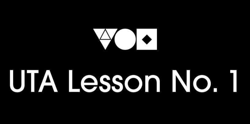 UTA Lesson No. 1